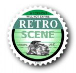 Retro TAX DISC Replacement Design With Koolart Ford Mondeo External Vinyl Car Sticker 75x75mm